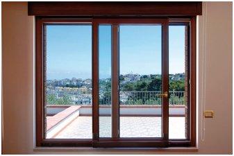 Infissi alluminio legno taglio termico fcs s n c dei for Infissi balcone